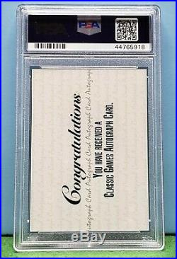 1992 Classic Derek Jeter 4 Sport Auto #/1125 PSA 9 Mint Card / AUTH Auto Rare