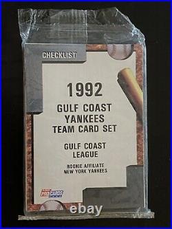 1992 Fleer Procards Gulf Coast Yankees Sealed Team Set Derek Jeter Rc Super Rare