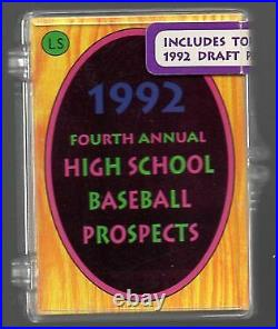 1992 Little Sun High School Prospects Promo Set with Derek Jeter Extremely RARE