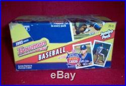 1993 Bowman Baseball JUMBO Box Unsearched Possible Jeter RC RARE