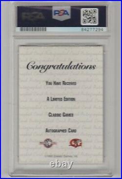 1993 Classic Best Derek Jeter Rookie Autograph Auto RC /1200 Signed PSA Rare Gem