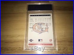 1993 Classic Best Greensboro Hornets Derek Jeter Rookie Rc#1 Rare Team Issue