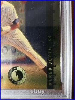 1993 Classic Sudden Impact Derek Jeter RC PSA 10 GEM MINT Pop 13 Very Rare HOF