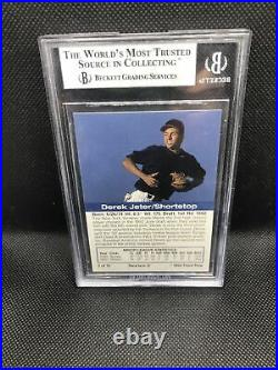 1993 DEREK JETER Front Row Gold Collection ROOKIE RC #2 BGS 9 MINT RARE YANKEES