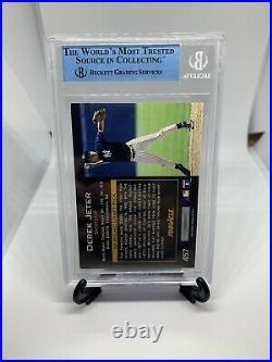 1993 Pinnacle Derek Jeter Signed Rookie Card JSA Certified Auto Beckett HOF Rare