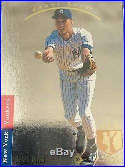 1993 SP Derek Jeter Rare Foil Rookie RC #279 BECKET GRADED MINT BGGC 8 read