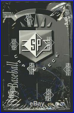 1993 SP Factory Sealed Box! Derek Jeter Rookie RC Rare BGS 10 PSA 10 HOFer