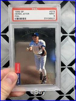 1993 SP Foil #279 Derek Jeter New York Yankees RC Rookie PSA Mint 9 Rare