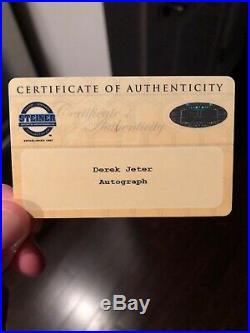 1993 SP Foil #279 Derek Jeter Rookie Card! Signed/ RARE Red Ink! Steiner COA