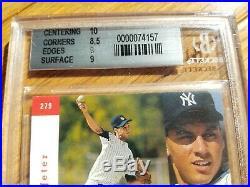 1993 SP Foil #279 Derek Jeter Yankees RC Rookie BGS 9! Rare Iconic Rookie Card