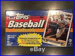 1993 SP Topps Factory Sealed Baseball Box Derek Jeter Gold Series 1 Rare Box