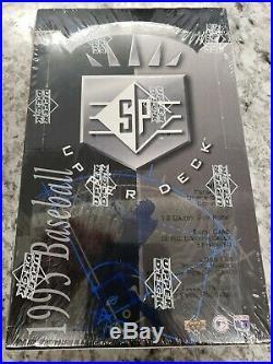 1993 SP UPPER DECK BASEBALL SEALED BOX RARE possible Derek Jeter Rookie