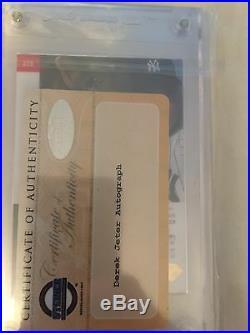 1993 Sp Derek Jeter Autographed Silver. Rare! EBay 1/1