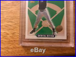 1993 Topps 98 Derek Jeter Colorado Rockies Inaugural Beckett 9.5 Pop 28 Rare