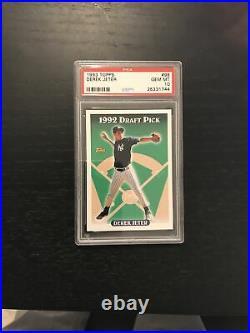 1993 Topps Derek Jeter ROOKIE RC #98 PSA 10 GEM MINT Yankees Rare GOAT. HOF