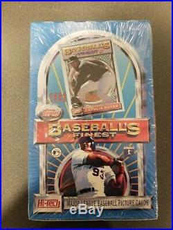 1993 Topps Finest Baseball Factory Sealed Box Rare
