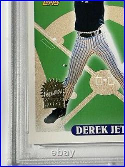 1993 Topps Florida Marlins Inaugural Derek Jeter RC #98 PSA 9 Foil Stamp Rare