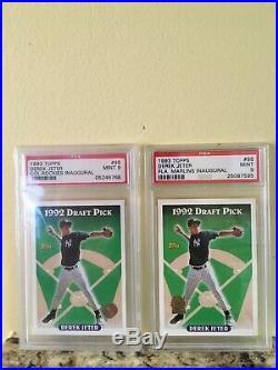 1993 Topps Inaugural Derek Jeter Rookie Marlins Rockies Lot! Rare! PSA 9