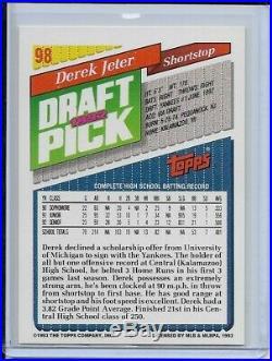 1993 Topps Inaugural Rockies #98 Derek Jeter RC Yankees RARE