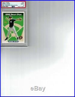 1993 Topps Inaugural Rockies Psa 9 Mint Derek Jeter Rookie Very Rare