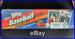 1993 Topps MARLINS Inaugural Factory Sealed Complete Set with rare DEREK JETER RC