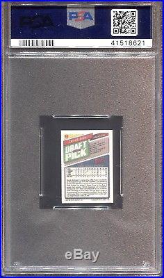 1993 Topps Micro Baseball #98 Derek Jeter Rookie Rc Psa 10 Yankees Pop 30 Rare