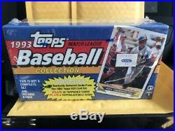 1993 Topps Rare 400 Baseball Collection Box 36 Gold Possible Jeter Rookie Sealed