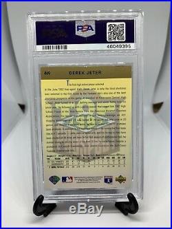 1993 Upper Deck Derek Jeter Signed Rookie Card PSA 10 Auto Rare Autograph RC HOF