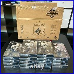 1993 Upper Deck SP Baseball Case With 18 Sealed Boxes Derek Jeter Rookie RC RARE