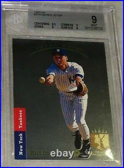 1993 Upper Deck SP Foil Derek Jeter RC #279 Rookie BGS 9 Mint (9.5,9,9,9) rare