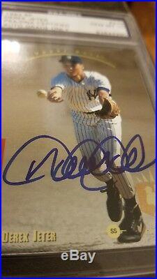 1993 Upper Deck SP Foil Derek Jeter Rookie card #279 PSA 10 gem mint Auto Rare