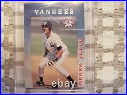 1994 Albany-Colonie Yearbook Derek Jeter Yankees RC! BGS 8.5 NM+! Rare