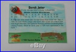 1994 Signature Rookies Derek Jeter Autographed Card Rare Card