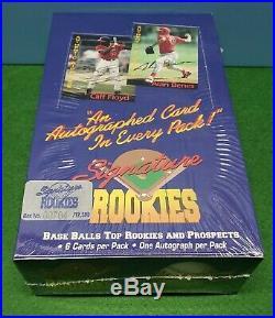 1994 Signature Rookies Minor League Baseball Sealed Wax Box Jeter Auto RARE