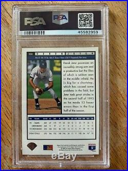 1994 Upper Deck FOIL Derek Jeter Rookie RC #550 PSA 10 Gem RARE New Case