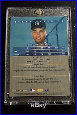 1995 Bowman's Best Derek Jeter #1 Rare Blue Refractor Mint