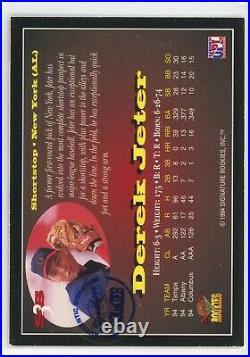 1995 Signature Rookies STAR SQUAD Derek Jeter RC AUTO AUTOGRAPH #D 77/525 RARE