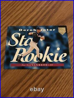 1995 Upper Deck Derek Jeter Electric Diamond Gold Star Rookie Card! Rare