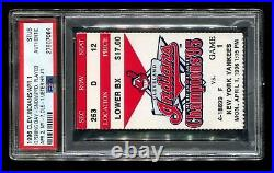 1996 Baseball Ticket Stub Derek Jeter HR #1 Rare