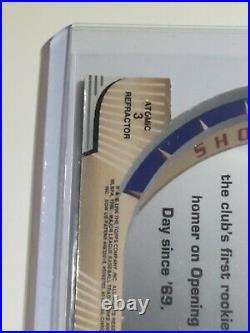 1996 Bowman's Best Cuts Atomic Refractor Derek Jeter ROOKIE RC Die Cut rare