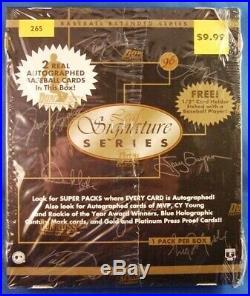 1996 Donruss Leaf Signature Series Baseball Extended Series RARE
