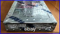 1996 Fleer Metal Universe Baseball Retail Box Rare Factory Sealed