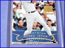 1996 TSC Derek Jeter SSP EXTREME GOLD REFRACTOR VARIANT RC MINT RARE HTF $$$
