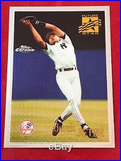 1996 Topps Chrome Derek Jeter HOF New York Yankees Rookie Card #80 RC RARE NM-MT