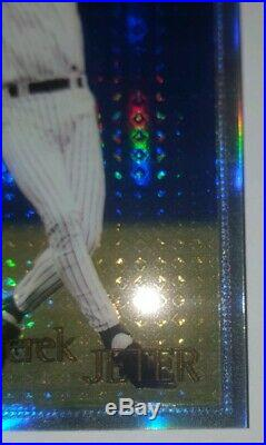 1996 Topps Chrome Star Rookie Derek Jeter Refractor SP rare #80