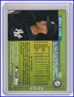 1996 Topps Gallery Players Private Issue Sp /599 Derek Jeter -yankees Rare