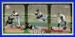 1996 Topps Tri Panel DEREK JETER SP NNO Card RARE! New York Yankees