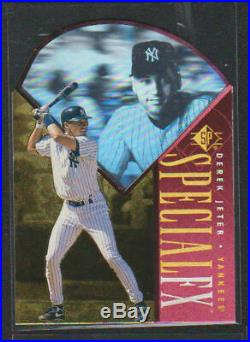 1996 Upper Deck Sp Special Fx Red Die-cuts #48 Derek Jeter Yankees Rare 175 Rc