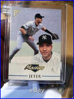 1997-2000 Derek Jeter Rare Insert Lot-Hot Gloves-Mirror Blue- Plat Team-Plus 4