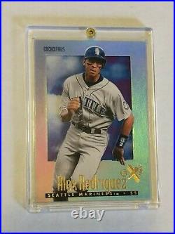 1997 Alex Rodriguez Ex essential credentials Mariners 88/299 rare SSP e-x #43
